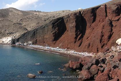Santorini Red Beach
